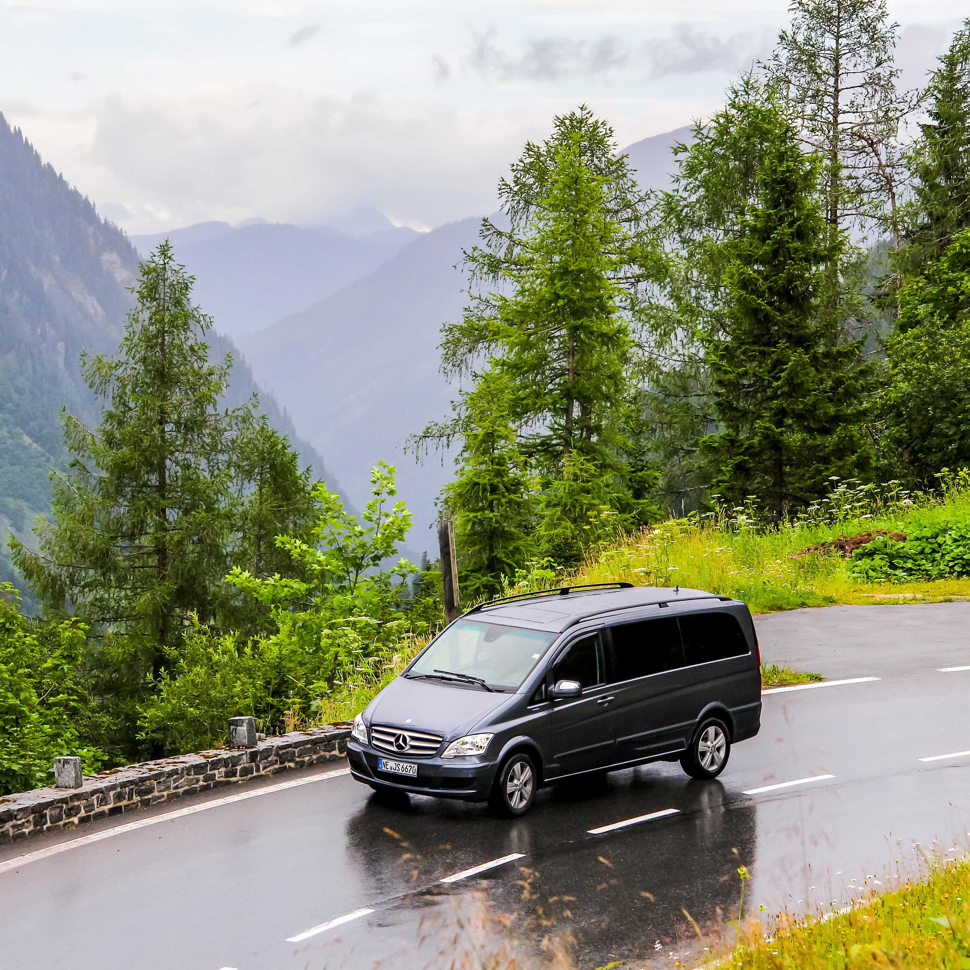 Transport Personnes VTC Van | Alpes Transfair
